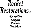 Rocket Restorations Logo
